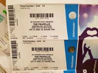 SOLD PENDING COLLECTION 2x tickets £50 Fratellis Glasgow barrowlands. Saturday 31st March