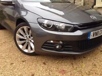 VW Scirocco 2.0 Tsi GT, Manual, one careful owner from new, excellent condition, Xenon lights, FVWSH