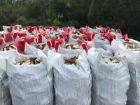 Bulk Bags Of Seasoned and Unseasoned wood available
