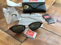 a genuine pair of ran ban sunglasses