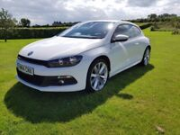Volkswagen Scirocco - White - Low Mileage - Well Looked After- Full Service History
