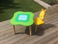 IM Toy Forest Toddler Children Table and Chair