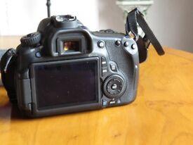 Canon Eos 60D DSLR Camera Body