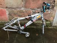 Free bike frame, parts and lock
