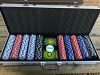 Pro poker professional 500 chips poker set