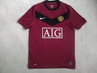 MANCHESTER UNITED FOOTBALL SHIRT SIZE: 36/38""