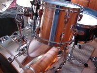 Stunning Chrome Pearl EX & ELX Drum Kit & Hardware