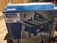 Scheppach HS80 table / tilt saw