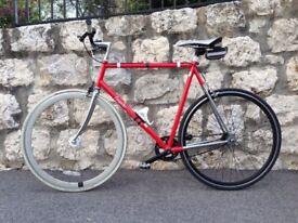 Langster Custom, Road Bike, Single speed, steel frame