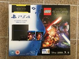 *BRAND NEW* Sony PlayStation 4 1TB with LEGO Star Wars: The Force Awakens (game + blu-ray)