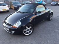 2005 FORD KA CONVERTIBLE 1.6 LUXURY WITH MOT IN GREAT CONDITION