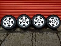 Vauxhall Vivaro genuine 16in steel wheels continental tyres & trims ex condition low mileage