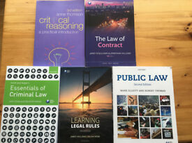 2017 Law Textbooks for Cardiff University Law Course