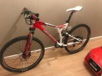 Specialized s-works fsr m4 xc full sus mountain road bike bicycle
