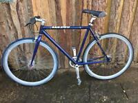Create bike fixed wheel or free wheel
