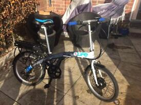 Elife voyage folding electric bike