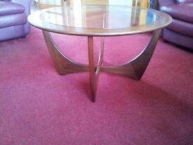 G-Plan circular coffee table