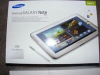 Samsung Galaxy Note GT-N8000 Quad Core 10.1 16gb 3G/4G + WiFi Unlocked BOXED Complete