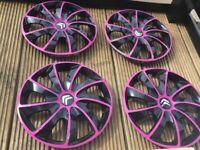 Wheel Trims Wheel Covers 14 inch Citroen C1