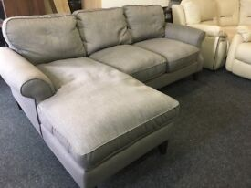 NEW / EX DISPLAY John Lewis Chaise Corner Sofa