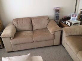 Two x 2 seater sofas, good condition