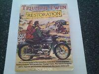 TRIUMPH TWIN RESTORATION BY ROY BACON