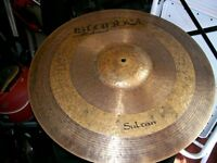 "21"" Istanbul Sultan ride cymbal for sale."
