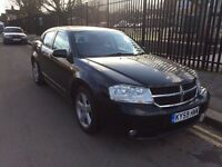 DODGE AVENGER SXT 2009/09 REG 2.0 DIESEL MANUEL BLACK 4 DOOR SALOON (SAME ENGINE AS VW PASSAT)