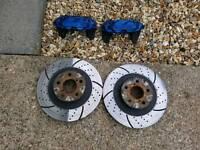 Subaru 4 pot brakes
