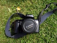 Canon 1000f camera with Ultrasonic lense. Film Camera