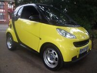 Smart Fortwo 1.0 Pure 2dr AA APPROVED GARAGE 3MW 2007 (57 reg), Coupe