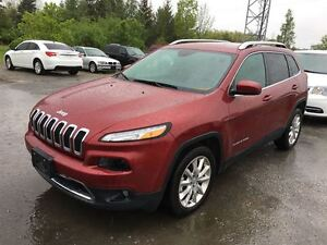 2016 Jeep Cherokee Limited/CARPROOF CLEAN/LEATHER/HEATED SEATS/L