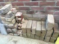 Old English bricks block pavers