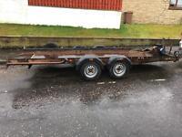 Brian James Tilt Bed Car Transporter trailer.
