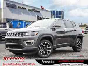 2018 Jeep Compass Limited | NAV | REAR CAM | REM START | LEATHER