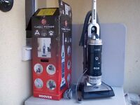 HOOVER TURBO POWER UPRIGHT BAGLESS PET VACUUM CLEANER, NEW, BOXED & COMPLETE, FACTORY SECOND