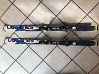 Kids Skis - Salomon X-RACE Junior M Skis + EZY7 Bindings Size 140cm