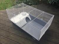 Portable rabbit hutch