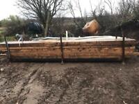 New 4x3 timber 4.8m lengths