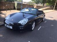 Lovely Black Porsche 911 Convertible