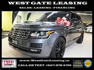 2016 Land Rover Range Rover DIESEL | HSE | FULLY LOADED |