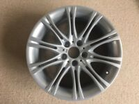 "BMW E60 E61 5 SERIES M SPORT MV2 18"" ALLOY WHEEL STYLE 135 GENUINE 8Jx18"