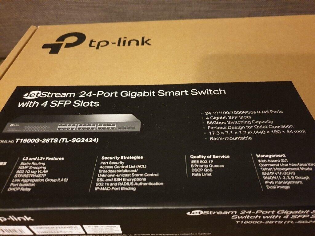 24-Port Gigabit Smart Switch | in Sevenoaks, Kent | Gumtree