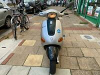 PIAGGIO VESPA 125cc SILVER 1999 SOLD AS SEEN NO OFFERS!!