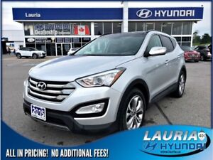 2015 Hyundai Santa Fe Sport 2.0T AWD Limited - Leather / Navigat