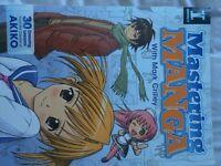 3 mastering Manga books