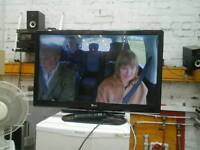 LG television with built in freeview