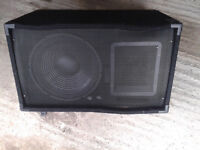"""STAGE WEDGE MONITOR--12"""" all working clearout BARGAIN £50"""
