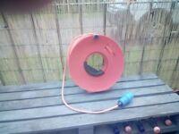 Caravan electricity cable