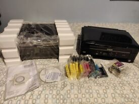 2 x Epson Expression Home XP-322 for spares and repairs + inks